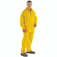 DiamondBack OX025PU-XXXL Rainsuit Polyester Ylw 3Pc 3Xl