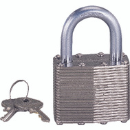 ProSource HD00014-3L 1-3/4 Inch Padlock Laminated Steel
