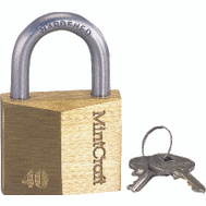 ProSource HD10040-3L 1-1/2 Inch Brass Padlock