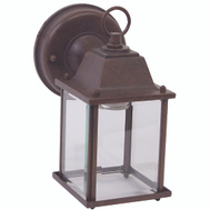 Boston Harbor AL1037-RB3L 1 Light Rustic Brown Wall Lantern