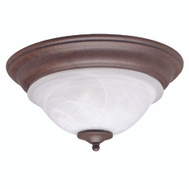 Boston Harbor BRT-ATE1012-RB3L 2 Light Brown Alabaster Ceiling Fixture