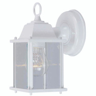 Boston Harbor AL1037-43L 1 Light White Small Porch Wall Lantern
