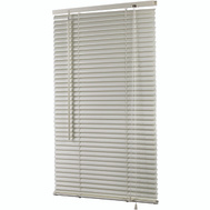 HomeBasix MBV-25X64-3L 25 Inch By 64 Inch White Vinyl Mini Blind