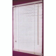 Simple Spaces FWB-23X42-3L Blind Faux Wood White 23X42in