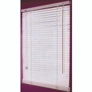 HomeBasix FWB-32X64-3L Blind Faux Wood White 32X64in