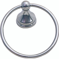 Boston Harbor L5060-26-103L Venetian Towel Ring Chrome