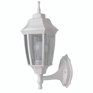 Boston Harbor BRT-BPP1611-WH3L White Beveled Outdoor Wall Lantern