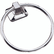 Boston Harbor CSC 8586-3L Manhattan Towel Ring Chrome