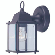 Boston Harbor AL1037-53L Fixture Porch Wlmt 1Lt Black