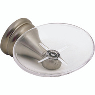 Boston Harbor L5059P-13B-10-3L Venetian Soap Dish With Acrylic Tray Brushed Nickel