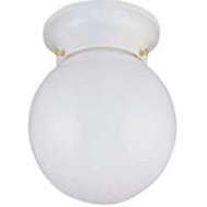Boston Harbor F3WH01-3375W-3L 1 Light 6 Inch Opal Ceiling Fixture