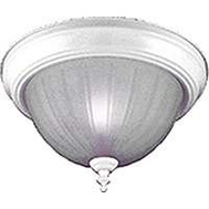 Boston Harbor F51WH02-1005-3L 2 Light Flush White Ceiling Fxture 13 Inch