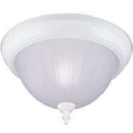 Boston Harbor F52WH01-8031-3L Fixture Ceil 1Lt Alb Melon Wht