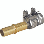 Landscapers Select GB91113L Brass Hose Mender 5/8 - 3/4 Inch With Clamps