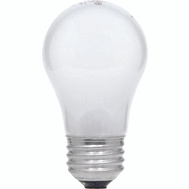 Sylvania 10117 40 Watt Appliance Light Bulbs Incandescent A15 Frosted