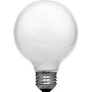 Sylvania 14190 40 Watt Decorative Light Bulbs Incandescent Globe G25 Soft White Pack Of 6