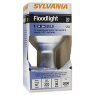 Sylvania 14836 30 Watt Reflector Flood Lamps Indoor R20 Frosted