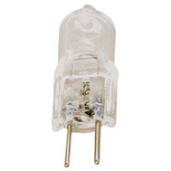 Sylvania 58655 20 Watt Quartz Halogen Bulbs 2 Pin G4 Clear