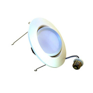Sylvania 73466 Ultra Interior LED 5 Inch / 6 Inch Recessed Kit Wide Flood Replacement