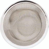 Plumb Pak PP820-35 Mesh Flow Through Kitchen Strainer Basket Stainless Steel