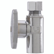 Plumb Pak PP62PCLF 1/2 Compression Sweat By 3/8 Quarter Inlet Straight Valve