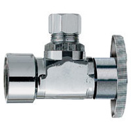 Plumb Pak PP46PCLF 1/2 Fip By 1/4 Angle Valve