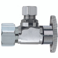 Plumb Pak PP123PCLF 1/2 Nom Compression By 1/4 Quarter Angle Valve