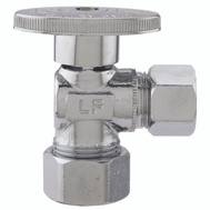 Plumb Pak PP62-1PCLF 5/8 Compression By 1/2 Quarter Turn Angle Valve