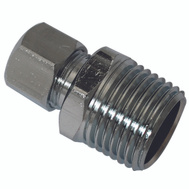 Plumb Pak PP74PCLF 1/2 Inch Mip By 3/8 Inch Od Straight Connectors