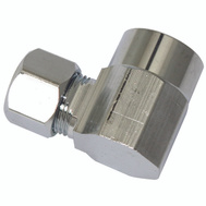 Plumb Pak PP77PCLF 1/2 Inch Sweat By 3/8 Inch Od Angle Connectors