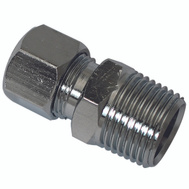 Plumb Pak PP72PCLF 3/8 Inch Mip By 3/8 Inch Straight Connectors