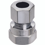 Plumb Pak PP7273PCLF 1/2 Inch Fip By 3/8 Inch Straight Connectors