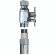 Plumb Pak PP20322LF 1/2 Nominal Cpvc By 3/8 Od Straight Transitional Valve