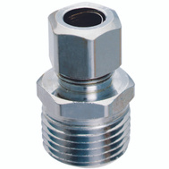 Plumb Pak PP20074LF 1/2 Inch Mip By 3/8 Inch Od Straight Connectors
