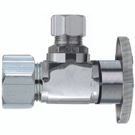 Plumb Pak PP61PCLF 1/2 Compression By 3/8 Quarter Angle Valve