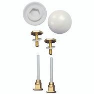 Plumb Pak K835-171 Toilet Bolts And Caps