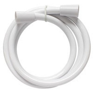 Plumb Pak PP825-42W Hose Shower Replmnt White 60In