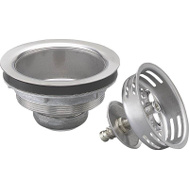 Plumb Pak PP5410 Stainer Stainless Steel Twist And Lock Basket