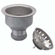Plumb Pak PP5412 Strainer Sink Fixd Cup Ss