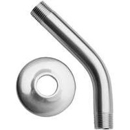 Plumb Pak PP825-11 1/2 By 8 Inch Chrome Shower Arm With Flange
