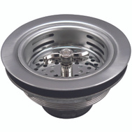 Plumb Pak 1433SS Strainer Stainless Steel Twist And Lock Basket