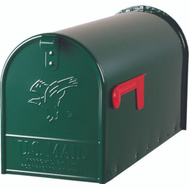 Solar Group E1600G00 Elite Rural Mailbox Elite Green