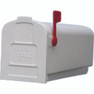 Solar Group PL10W0201 Mailbox Std - Wht