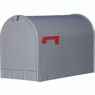 Solar Group ST200000 Stanley Mailbox Rural Stnley Jumbo Gry