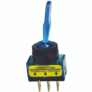 Calterm ECM 40240 Glow Toggle Switch Blue