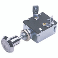 Calterm 42200 Chrome Push Pull Switch