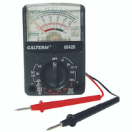 Calterm 66420 Multimeter Analog 12Rnge/5Func