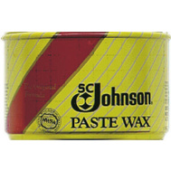 SC Johnson 00203 Clear Amber Paste Wax 1 Pound Can
