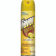 SC Johnson 73617 Favor Polish Furniture Lemon 9.7 Oz