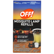 Off 76086 Repellent Mosquito Lamp Refill 2 Pack
